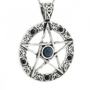 "Pentagram 18"" Chain Necklace"