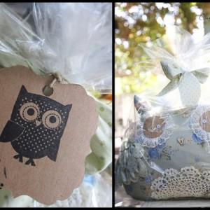Large decorative Shabby Chic Owl -Large