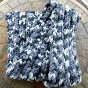 'Smoky' Knit Scarf