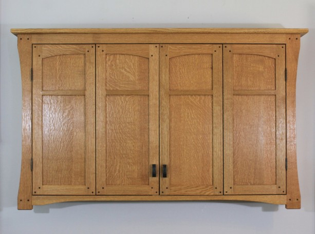 wall hung tv cabinet 60 quot wall mounted tv cabinet mission arts and crafts style 28062