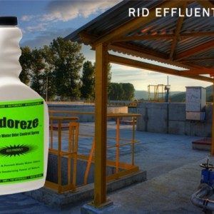 ODOREZE Natural Waste Water Odor Removal Additive/Spray: 32 oz. Concentrate Makes 250 Gallons