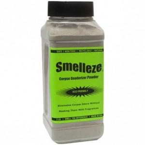 SMELLEZE Eco Corpse Odor Eliminator Deodorizer: 50 lb. Powder Destroys Smell of Death