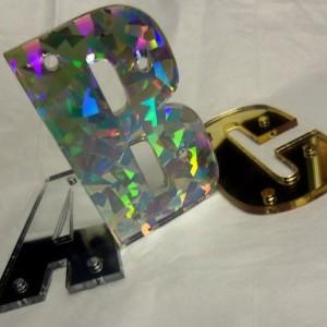 Snapback letters,laser cut.3D letters,Impact,mirror letters,laser cut letters,laser cut