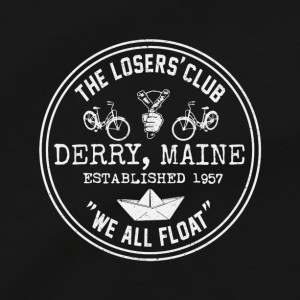 The Losers' Club Men's T Shirt, We All Float The Dancing Clown Pennywise Stephen King It Movie Unisex Cotton Tee Shirt