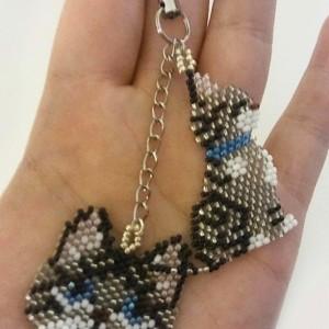 Personalized Cat Keychain