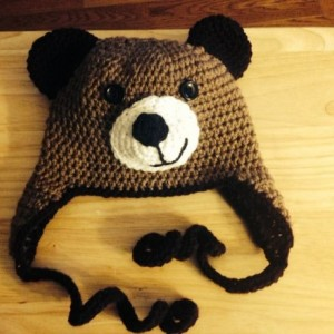 Crochet Bear Hat