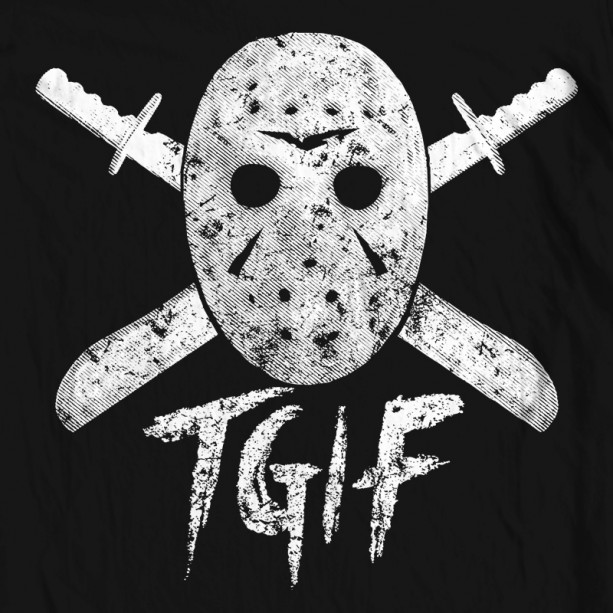 Halloween Friday the 13th Hoodie | aftcra