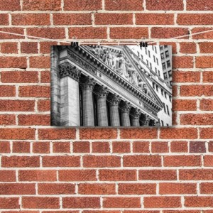 "Finance Art, Wall Street Art, ""The Exchange"""