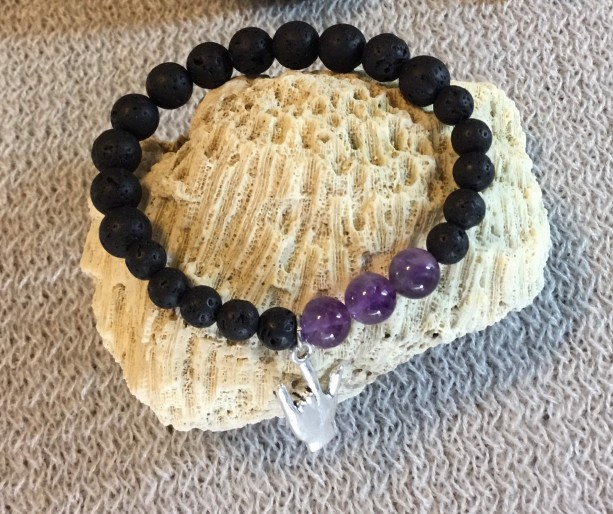 Diffuser bracelet, Essential oil bracelet for women, essential oil bracelets, amethyst bead bracelet, perfect for young person