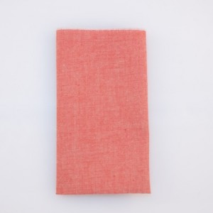 Pocket Square - Terra Cotta - Linen