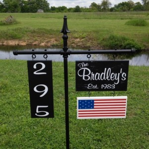 Personalized Yard Signs, Yard Signs, Housewarming, Garden Signs,  Personalized Gifts, #8