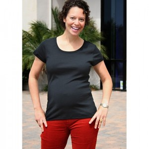 Gender Reveal Maternity Shirt Buck or Doe