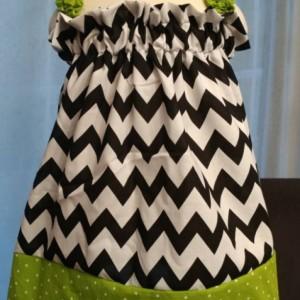 Chevron Strap Dress 1T