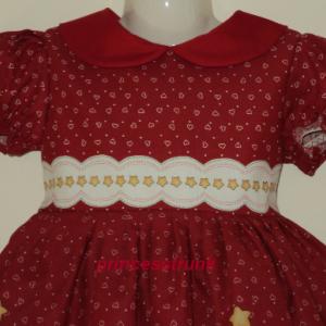 NEW Handmade Daisy Kingdom Raggedy Ann/Andy Christmas Dress Deluxe Custom Sz 12M-14Yrs