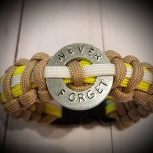 Firefighter Bracelet-9/11 Paracord Bracelet - Benefits NFFF