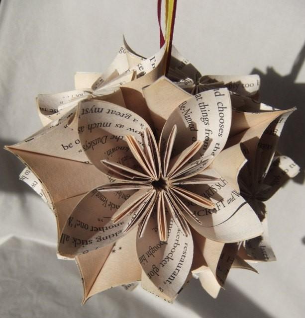 Harry Potter Origami Christmas Tree Ornament