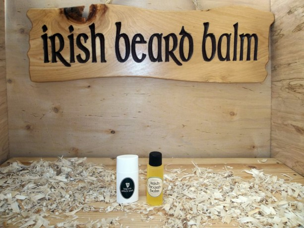 Sample beard wash and oil combo