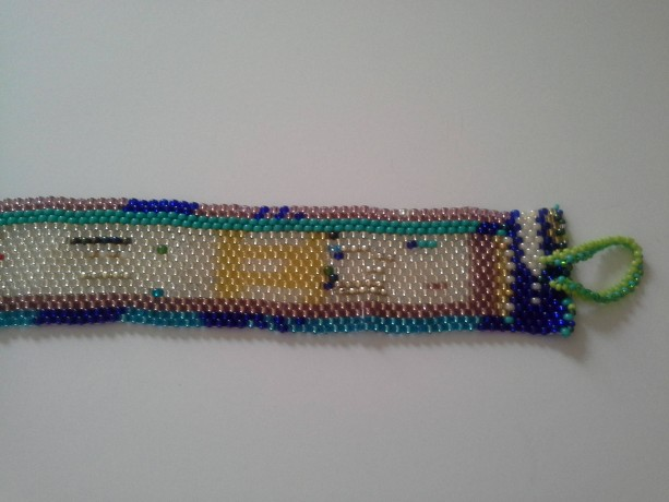 Abstract Peyote Bracelet - Unisex