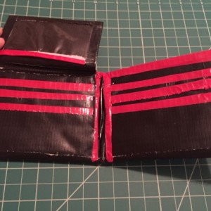 Custom Made Duct Tape Wallet