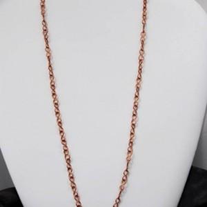 COPPER CHAIN - Solid Figure 8 Copper Chain - Ideal for holding Pendants - Copper Necklace