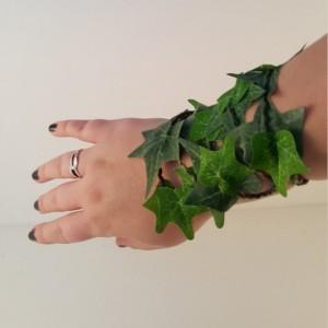 Ivy Leaf Bracelet Cuff