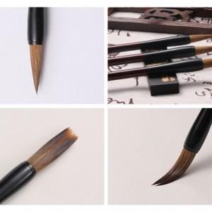 3 Pcs of Set Chinese Calligraphy Brush Set - Chinese Calligraphy and Painting Brush | Good for Chinese Kanji and Watercolor