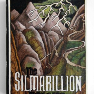 The Silmarillion - hideaway book box- unique and hand-made