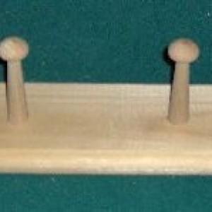 Shaker Peg Rack 24 Inch. Free Shipping!