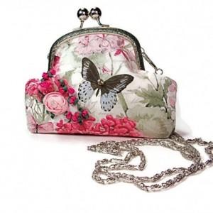 Evening Clutch, Evening Clutch Bag, Evening Clutch Purse, Bridal Clutch, Formal Clutch, Kiss Lock Clutch, Evening Bags and Clutches, Clutch