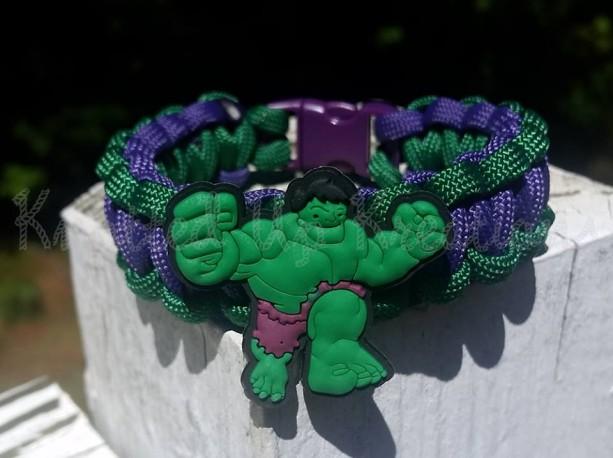Hulk Smash Paracord Bracelet
