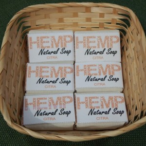 Citra 6pck FREE SHIPPING! Hemp Natural Soap