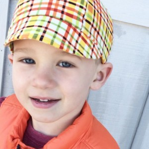 Kid's Hat - Boys Reversible Lightweight Baseball Hat - Children's Summer Cap - Reversible