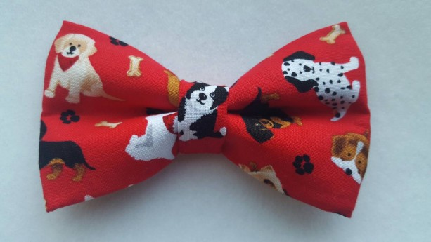 Dogs pet bow tie