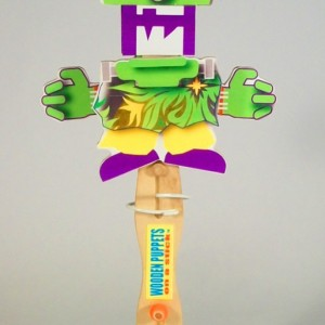 Wooden Puppet-  Franky