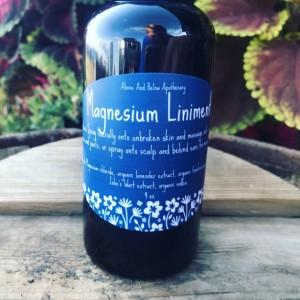 Magnesium Liniment Lavender 4 oz
