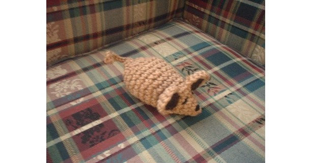 Jessica the House Mouse-Amigurumi Toy