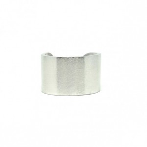 PROMISCUOUS RING: MATTE SILVER