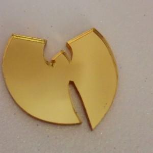 wutang charms,laser cut,laser cut charms,acrylic laser cut,