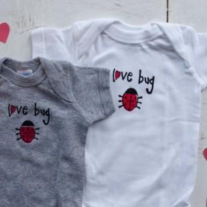 Love Bug  Original Design Onesie  or T-Shirt