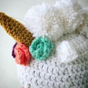 Unicorn hat, dress up, winter hat you choose size
