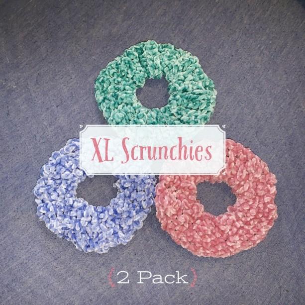 XL Velvet Scrunchies (2 Pack)