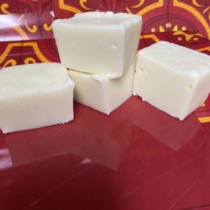 White Chocolate Fudge  **nut free**  1/2 pound   FREE SHIPPING !