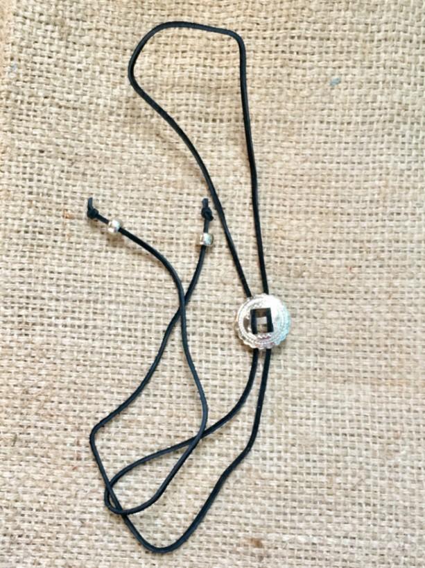 Black Concho Choker, Choker Wrap Necklace, Wrap Necklace, Black Concho Wrap, Black Suede Choker, Concho Wrap Necklace, Western Wrap Choker,