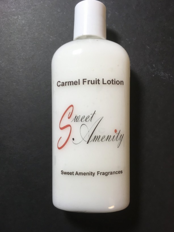 Carmel Fruit-Scented Hand and Body Lotion for dry skin