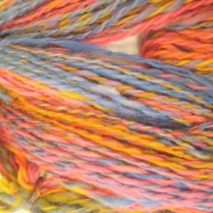handspun yarn-Handspun art yarn- Merino wool- Merino- 2 skeins 304yds- knitting- knit- knitting supplies- crochet- multi colored yarn