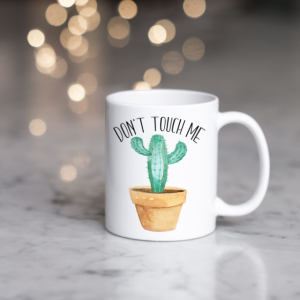 Don't Touch Me - Cactus Mug