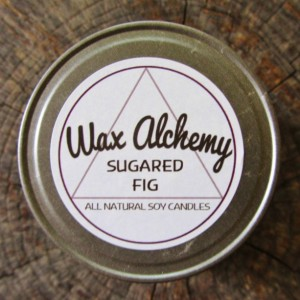 Sugared Fig 8 oz Soy Candle