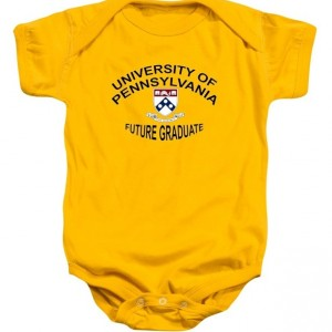 University Of Pennsylvania Future Graduate Baby Onesie