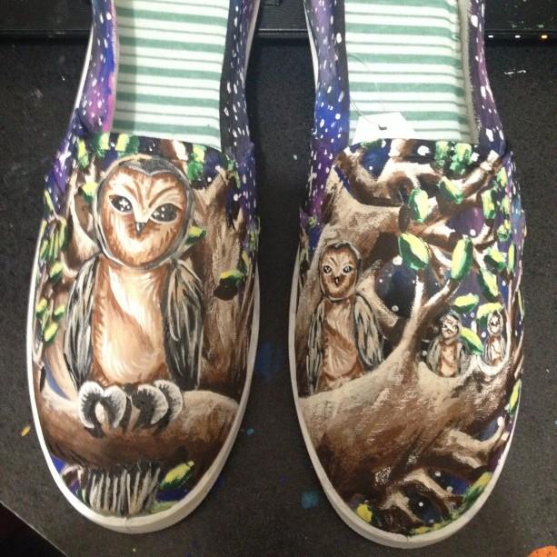 Owl Shoes