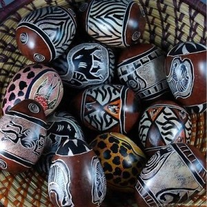 Easter Egg Crafted from Soapstone